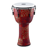 "meinl 12"" travel series mechanical tuned djembe - pharaoh's script"