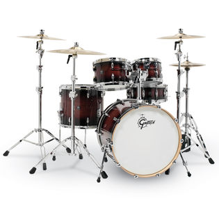 "gretsch renown 4 piece maple shell pack - 22"" bass drum"