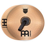 "meinl 18"" marching bronze cymbals (pair)"
