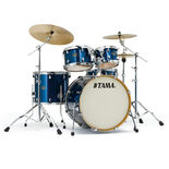 "tama silverstar 5 piece shell pack - 20"" bass drum"