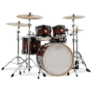 "dw design series 5 piece shell pack - 22"" bass drum"