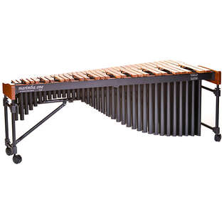 marimba one 5.0 octave izzy series marimba with premium keyboard and classic resonators
