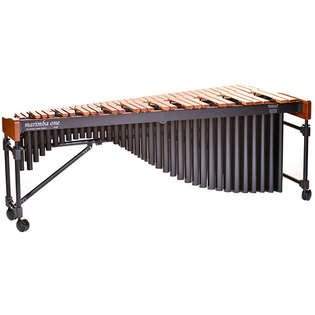 marimba one 5.0 octave izzy series marimba with premium keyboard and basso bravo resonators