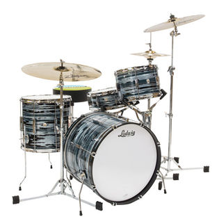 "ludwig club date 3 piece shell pack - downbeat 20"" bass drum"