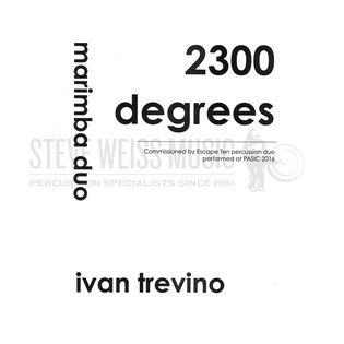 trevino-2300 degrees (sp)-2m/cro.