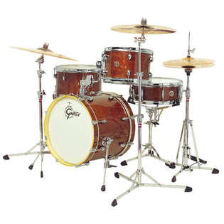 gretsch catalina club jazz 4 piece drum set shell pack with free gibraltar 8700 hardware pack