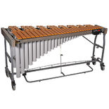 bergerault signature 3.0 octave vibraphone with motor - gold bars