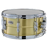 yamaha recording custom brass snare drum - 13x6.5