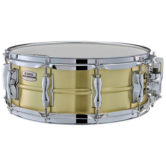 yamaha recording custom brass snare drum 14x5 5 metal snare drums snare drums steve. Black Bedroom Furniture Sets. Home Design Ideas
