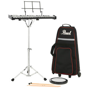 pearl pk910c percussion kit with carry bag and rolling cart
