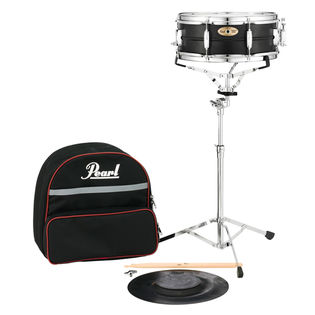 pearl sk910 snare drum kit with soft bag