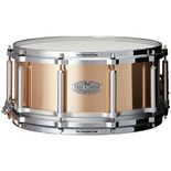 pearl task specific free floating phosphor bronze snare drum - 14x6.5