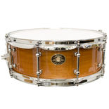 ludwig classic maple snare drum south american mahogany finish - 14x5