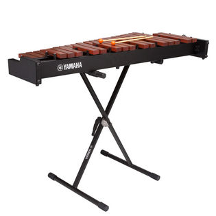 yamaha yx230 3.0 octave xylophone - padouk bars with stand