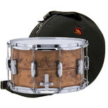 ludwig copperphonic snare drum with free galaxy bag -14x8