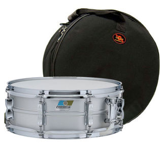ludwig aluminum acrolite classic snare drum with free galaxy bag 14x5 metal snare drums. Black Bedroom Furniture Sets. Home Design Ideas