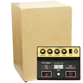 weiss cajon and roland ec-10m microphone processer pack