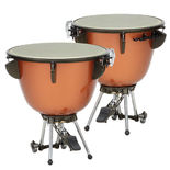 majestic set of 2 concert timpani with cambered frp bowls (26/29)