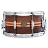 gretsch full range series walnut with maple inlay snare drum - 14x6.5
