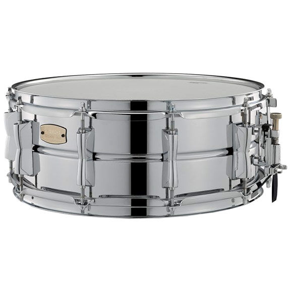 yamaha stage custom steel snare drum 14x5 5 metal