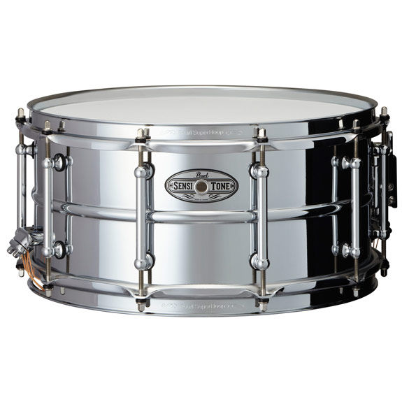 Pearl 14x6 5 sensitone beaded steel snare drum pearl for Yamaha stage custom steel snare drum 14x6 5