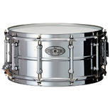 pearl sensitone beaded steel snare drum - 14x6.5