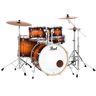 pearl export exl 5 piece drum set with hardware - 22′ bass drum