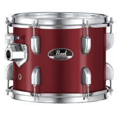 pearl roadshow bop kit drum set with cymbals - wine red incudes hw, throne