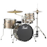 "Pearl Roadshow 4-Piece Bop Drum Set with Hardware and Cymbals - 18"" Bass Drum Alternate Picture"