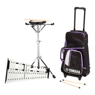 yamaha student bell kit with roller cart