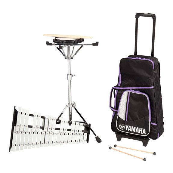 Yamaha student bell kit with roller cart spk 285r for Yamaha bell kit