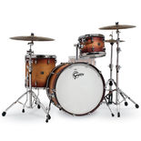 "gretsch renown 3 piece rock shell pack - 24"" bass drum"