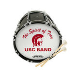 marching bass drum heads marching drum heads steve weiss music. Black Bedroom Furniture Sets. Home Design Ideas