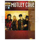 hal leonard drum play-along-motley crue vol. 46 (audio access included)
