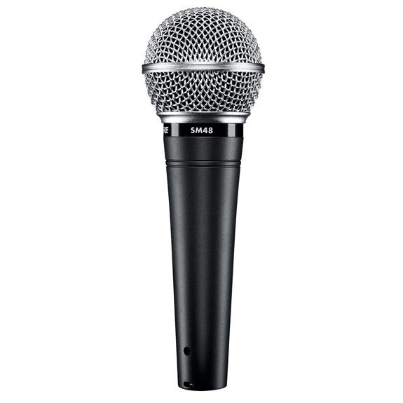 shure sm48 dynamic vocal microphone microphones microphones steve weiss music. Black Bedroom Furniture Sets. Home Design Ideas