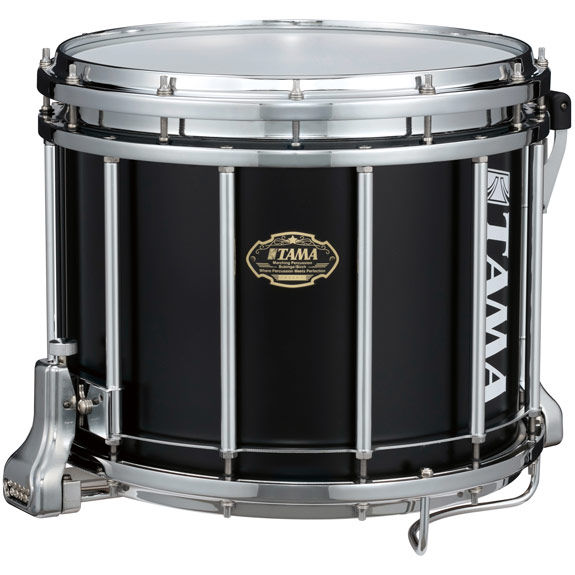 tama maple marching snare drum satin black marching snare drums marching steve weiss music. Black Bedroom Furniture Sets. Home Design Ideas