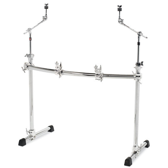 gibraltar chrome series curved rack system gcs302c drum racks rack clamps drum set. Black Bedroom Furniture Sets. Home Design Ideas