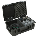 skb iseries waterproof microphone case - holds 12 microphones