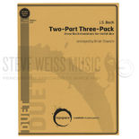 bach-two-part three-pack arr. slawson (sp)-2m