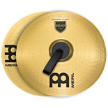 "meinl 18"" marching brass cymbal pair"