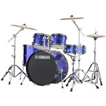 "yamaha rydeen 5 piece drum set with hardware - 22"" bass drum"