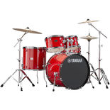 "Yamaha Rydeen 5 Piece Drum Set with Hardware - 22"" Bass Drum Alternate Picture"