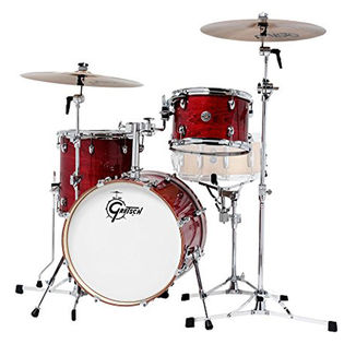 gretsch catalina club jazz 3 piece shell pack - gloss rosewood maple