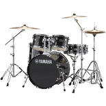 yamaha rydeen 5 piece drum set with hardware includes free throne and splash cymbal