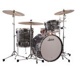 "ludwig classic maple fab 3 piece shell pack with free humes and berg tuxedo bag set - 22"" bass drum"