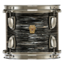 vintage black oyster ludwig classic maple fab kit - 22/13/16