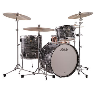 "ludwig classic maple fab 3-piece shell pack (premium wrap) - 22"" bass drum"
