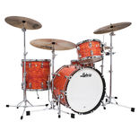 "Ludwig Classic Maple Fab 3-Piece Shell Pack (Premium Wrap) - 22"" Bass Drum  Alternate Picture"