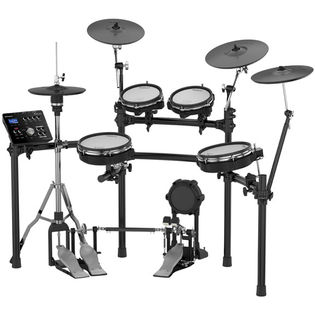 roland td-25kv-s v-drums electronic drum set with free gibraltar hardware