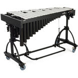 majestic artist series 3.0 octave vibraphone with silver bars and motor